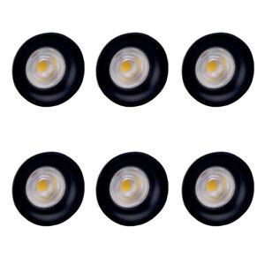 6Pcs/pack 5W LED Cabinet Recessed lighting Shop Store Showcase Bar Light Fixture