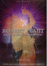 OFFICIAL REX RAY COLLECTION STORE - Rex Ray - ROBERT PLANT Poster 2005