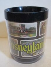 VINTAGE DISNEY DISNEYLAND ATTRACTIONS THERMO SERV INSULATED COFFEE MUG CUP