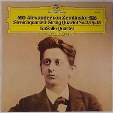 ZEMLINSKY: String Quartet LaSalle DGG2530 982 Vinyl LP NM Germany