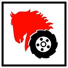 """WHEEL HORSE 2"""" Square Hood Decal - Set of 2"""