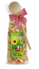 (€2,80 / 100 g) Pasta Geschenk Garten, bunte Gartenmotiv-Nudeln, 250 g