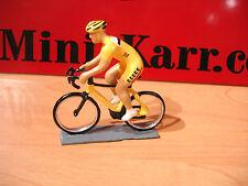 CBG MIGNOT cycliste Tour de france  CONTEMPORAIN JAUNE  cyclist TOY SOLDIER