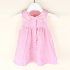 Summer Toddler Kids Baby Girls Princess Dresses Party Sleeveless Casual Sundress