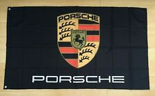 Porsche Car Flag Banner 3x5 ft Sports Car 911 GT3 Boxster Carrera Turbo