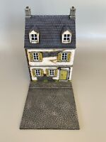 28mm, Painted Terrain, WW2, French Building, Bolt Action,(FRE1-2)