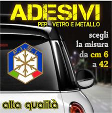 Adesivi FISI Federazione Italiana Sport Invernali (da 6 a 42 cm)