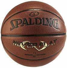 "Spalding Neverflat Official size Basketball, 29.5"" indoor /outdoor"