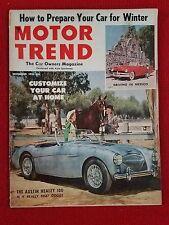 Motor Trend November 1953 Chrysler New Yorker - Motorama - Buick Special