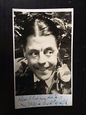 DUGGIE WAKEFIELD - ACTOR & COMEDY ENTERTAINER - SUPERB SIGNED VINTAGE PHOTOGRAPH