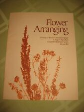 Flower Arranging University of Illinois College of Agriculture Circular 1154