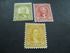 Mh U.S. Stamps No'S 560-561-562. Lot Bc- 52.