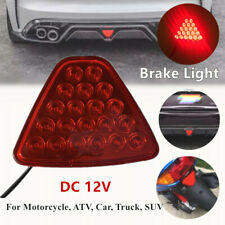 Motorcycle Car Brake Lights Tail Light Turn Signal Reverse Lamps Triangle Shape