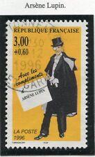 TIMBRE FRANCE OBLITERE N° 3026 CELEBRITE ARSENE LUPIN / Photo non contractuelle