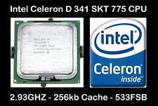 Intel SL8HB Socket LGA775 processore Celeron D 341 2.93GHZ/533FSB/256 KB di Cache