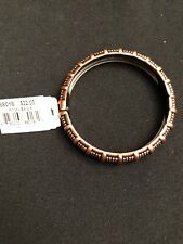 Cookie Lee Hinged Bangle Copper Colored bracelet - NWT $22 88018