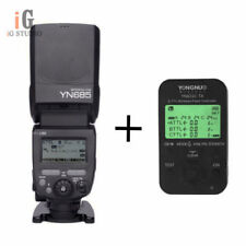 Yongnuo YN685 TTL HSS 1/8000 Flash Speedlite + YN622C TX Flash Trigger For Canon