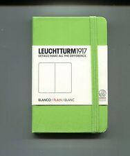 AGENDA # LEUCHTTURM 1917# BLANKO/PLAIN/BLANC #Nuovo-Green 7x11 cm