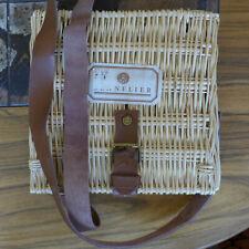 Sennelier Oil Pastels Kit in Wicker Case; 24 colors, w/2 smudge sticks, rag etc.