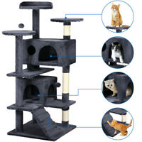 """51"""" Cat Tree Tower Condo Furniture Scratching Post Pet Kitty Play House 5 Colors"""