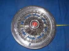 "NOS Ford 15"" Wire Wheel Cover Hubcap Galaxie LTD Thunderbird Torino"