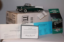 Franklin Mint, 1956 Chevrolet Convertible, With Shipping Box, 1/24th Scale