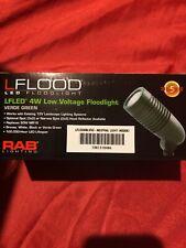 RAB Lighting LFLED4NLVVG NaturalLED Landscape Floodlight Verde Green 12vac