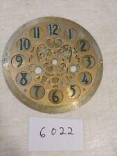 ANTIQUE FANCY  MANTLE CLOCK DIAL
