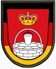 Wappen von Königsbrunn Aufnäher, Pin, Aufbügler