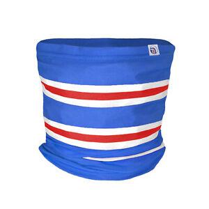fan originals Snood Neck Scarf - Blue White Red Rangers Colours