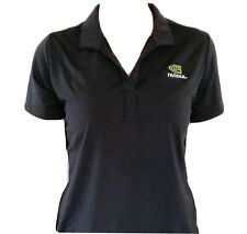 Exclusive NVIDIA Women's Black Medium Employee Polo Golf Shirt