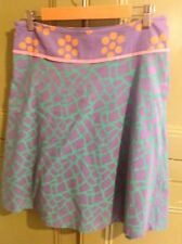 "Lysgaard Womens Size S 32""waist 100% Cotton Lined A Line Skirt Summer Casual"