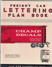 Freight Car Lettering Plan Book Model Railroaders Bk No.2 Over 600 Plans PB p80