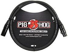 Pig Hog PHM3 High Performance 8mm XLR Microphone Cable, 3 feet