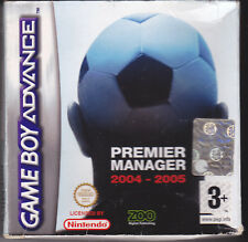 Game Boy Advance GBA PREMIER MANAGER 2004 - 2005 completo come nuovo italiano