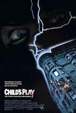 Child's Play - Chris Sarandon - Chucky - A4 Laminated Mini Movie Poster