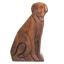 Genuine Ancient Wisdom Wooden Puzzle Box Dog