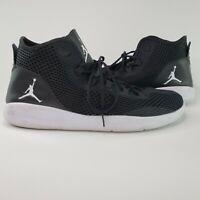 Nike Air Jordan Reveal Black/White Mens Sz 17 Shoes 834064-010 Light Weight