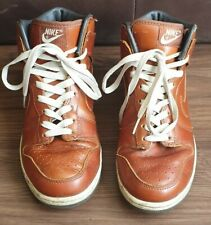 Unisex Nike Dunk Hi Premium Medium Curry Net Dark Brown Sz UK6.5/ US7.5 Leather