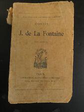 Jean de la Fontaine - Contes - T1 - 1928
