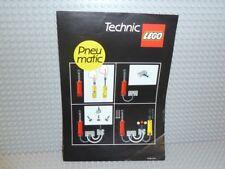LEGO ® Technic recipe 112182 pneumatic pamphlet ungelocht instruction 8000