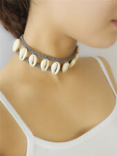 Nature Shell Choker Necklace Jewelry Fashion Stock in US Retro