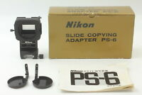 [ Almost MINT in BOX ] Nikon PS-6 Slide Copying Adapter for PB-6 From JAPAN