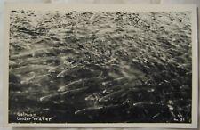 Estate Sale - Real Photo Postcard - Salmon Under Water - RPPC - EKC Print