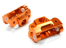T5030ORANGE Integy Billet Machined Caster Blocks for HPI 1/12 Savage XS Flux