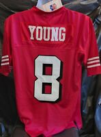 Red Mitchell & Ness San Francisco 49ers 46 Small Steve Young Jersey