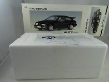 1:18 Autoart #72861 Ford Sierra Rs Cosworth Negro - Rareza§