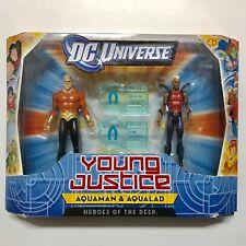 DC Universe JLU Young Justice Aquaman and Aqualad Action Figure 2 Pack NIB