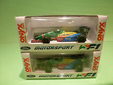 ONYX 1:43 FORMULE 1 -  BENETTON FORD B188 - NANNINI  - GOOD CONDITION IN BOX