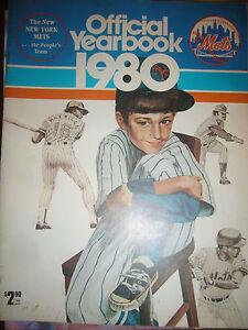 New York Mets 1980  Yearbook